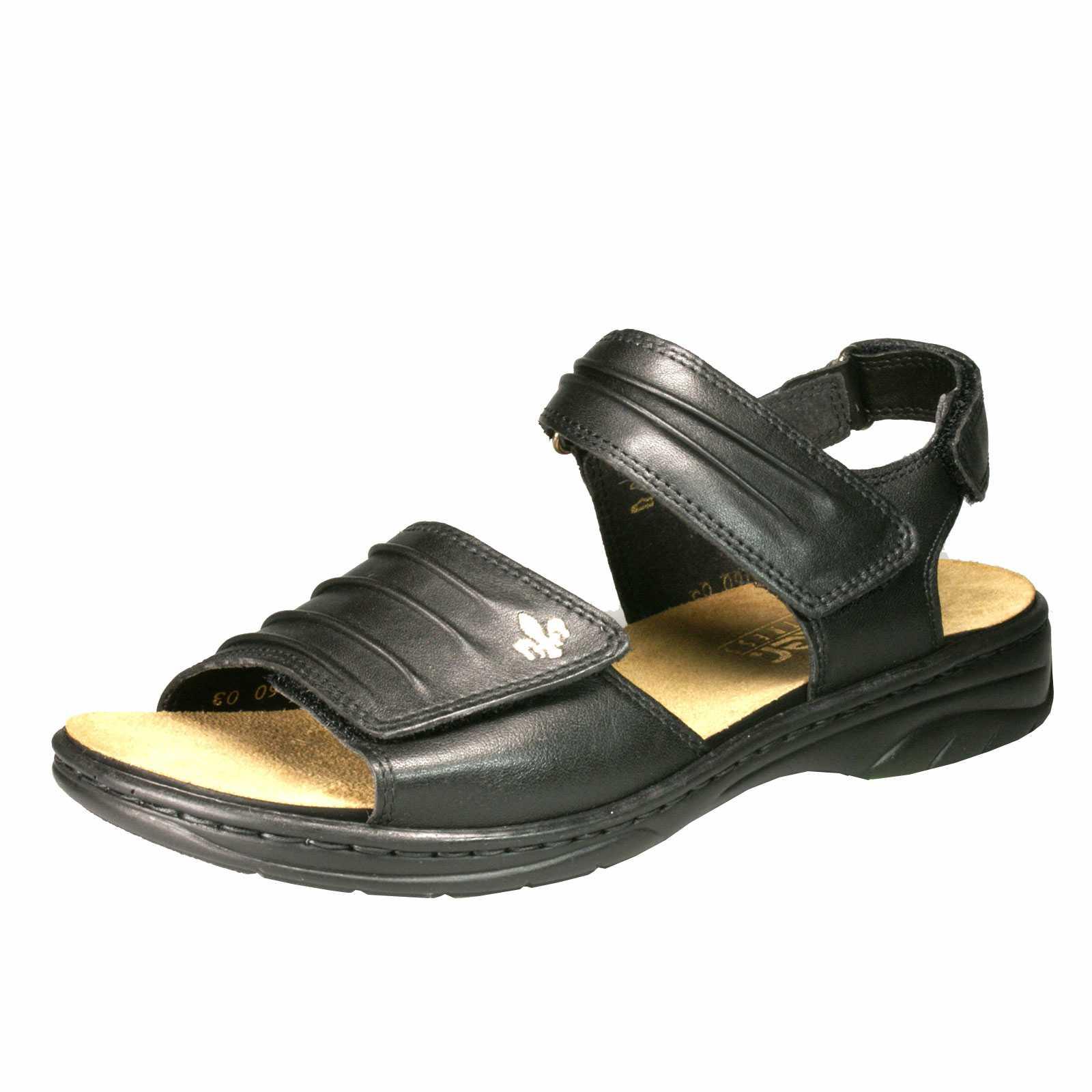 Damen Sandale schwarz - 64560-01