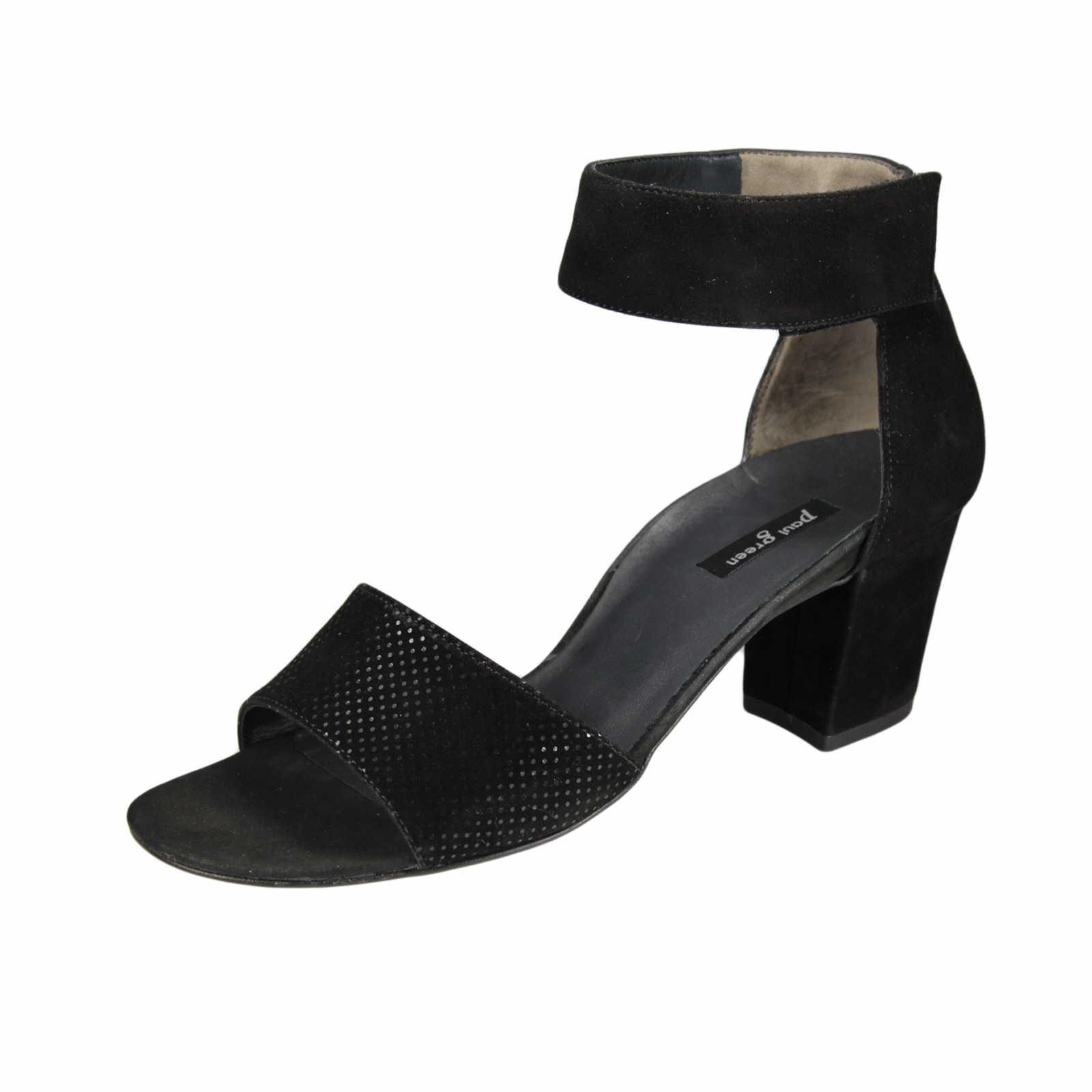 Damen Sandalette schwarz - 6608-057
