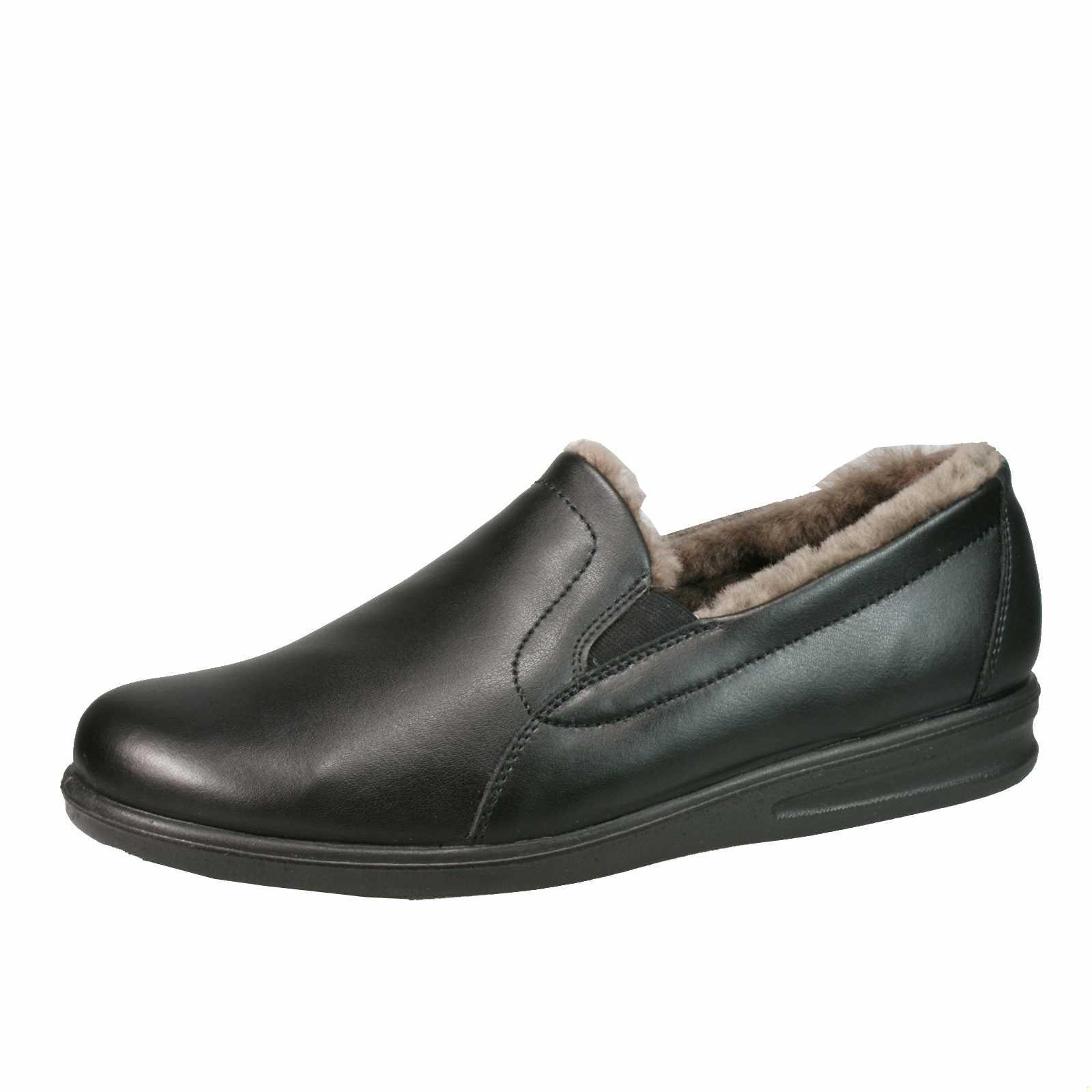 super popular fda44 95571 Romika Hausschuh für Herren in schwarz | Schuhparadies