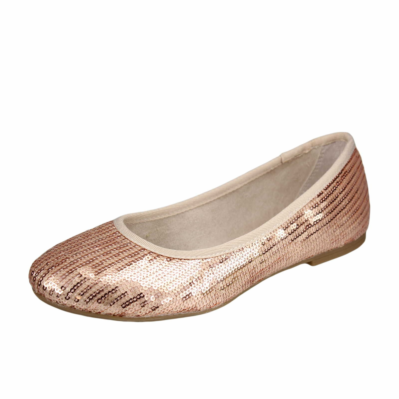 s oliver damen ballerina copper in rot schuhparadies. Black Bedroom Furniture Sets. Home Design Ideas