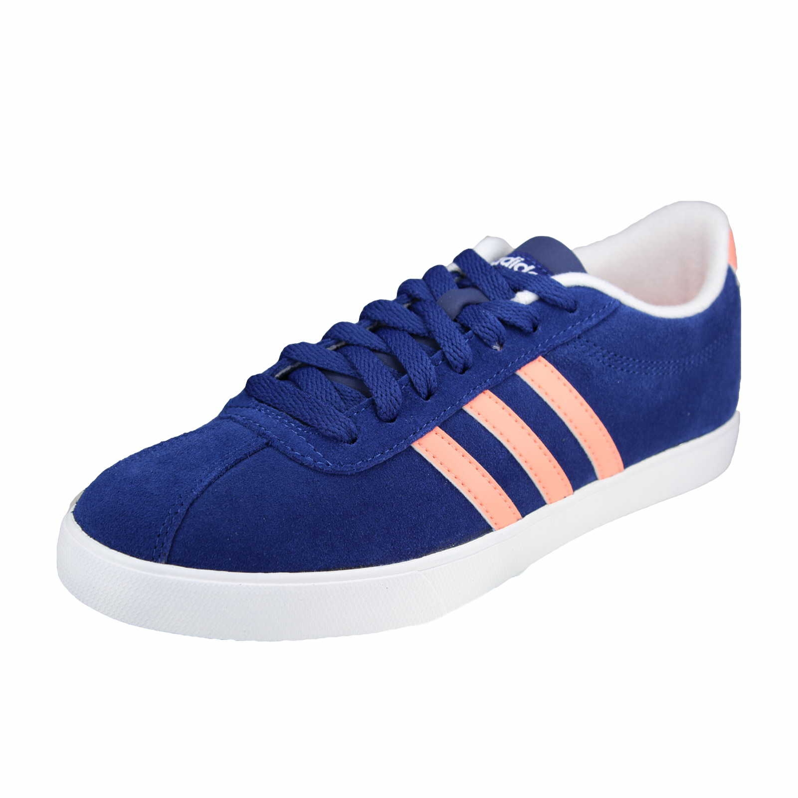 adidas neo courtset w ink sunglow in blau schuhparadies. Black Bedroom Furniture Sets. Home Design Ideas