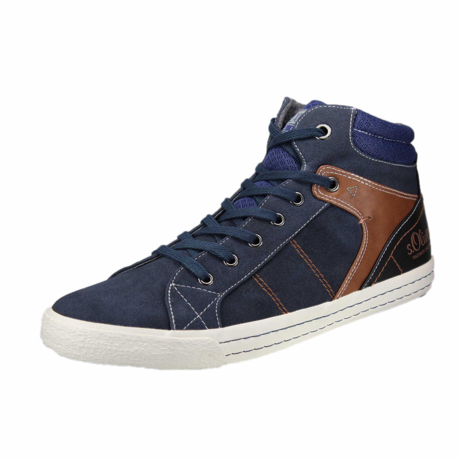 s oliver sneaker f r herren in blau schuhparadies. Black Bedroom Furniture Sets. Home Design Ideas