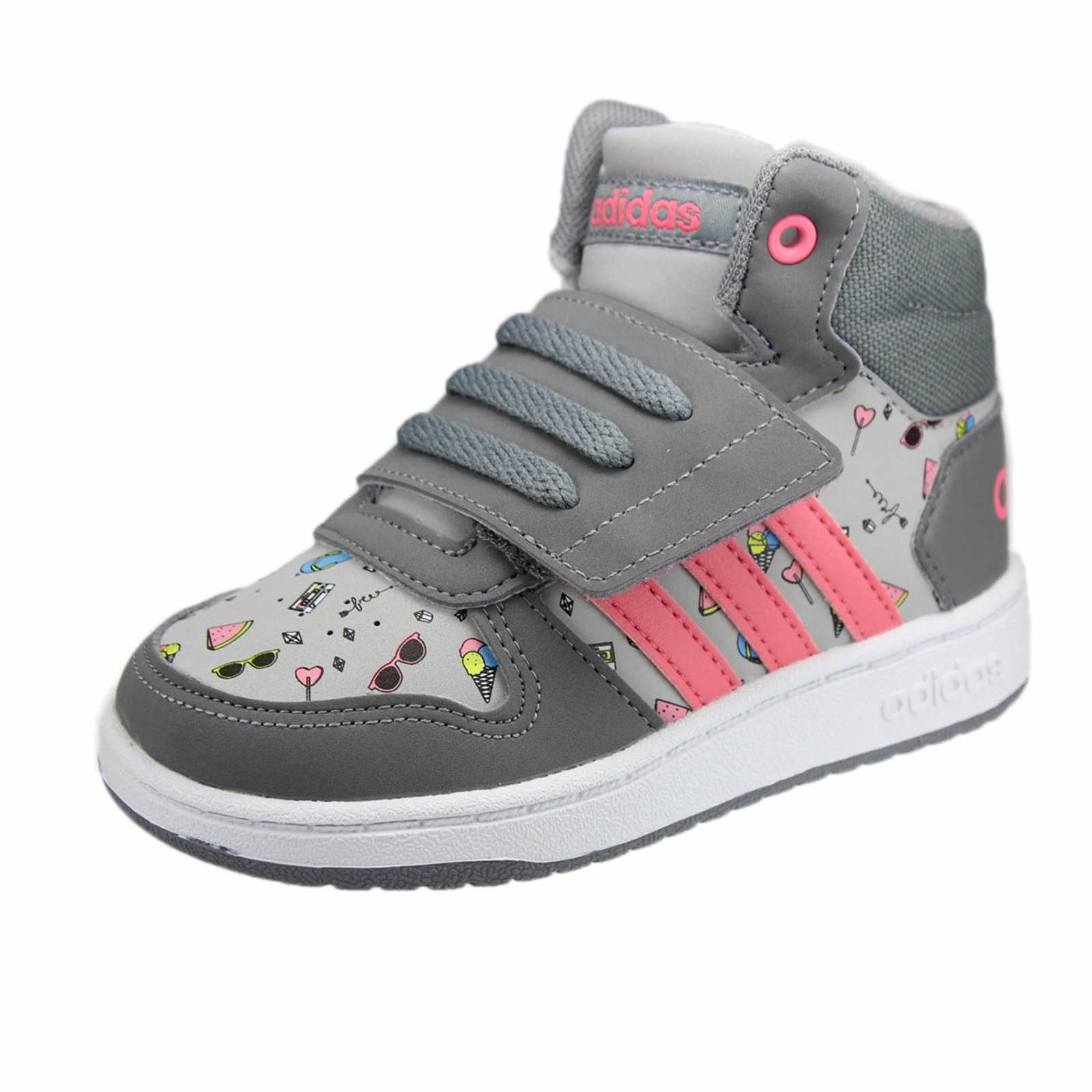 adidas neo midcut sneaker in grau schuhparadies. Black Bedroom Furniture Sets. Home Design Ideas