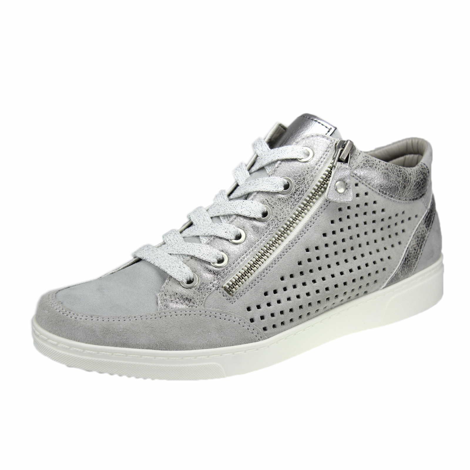Jenny »Textil« Sneaker, grau, hellgrau