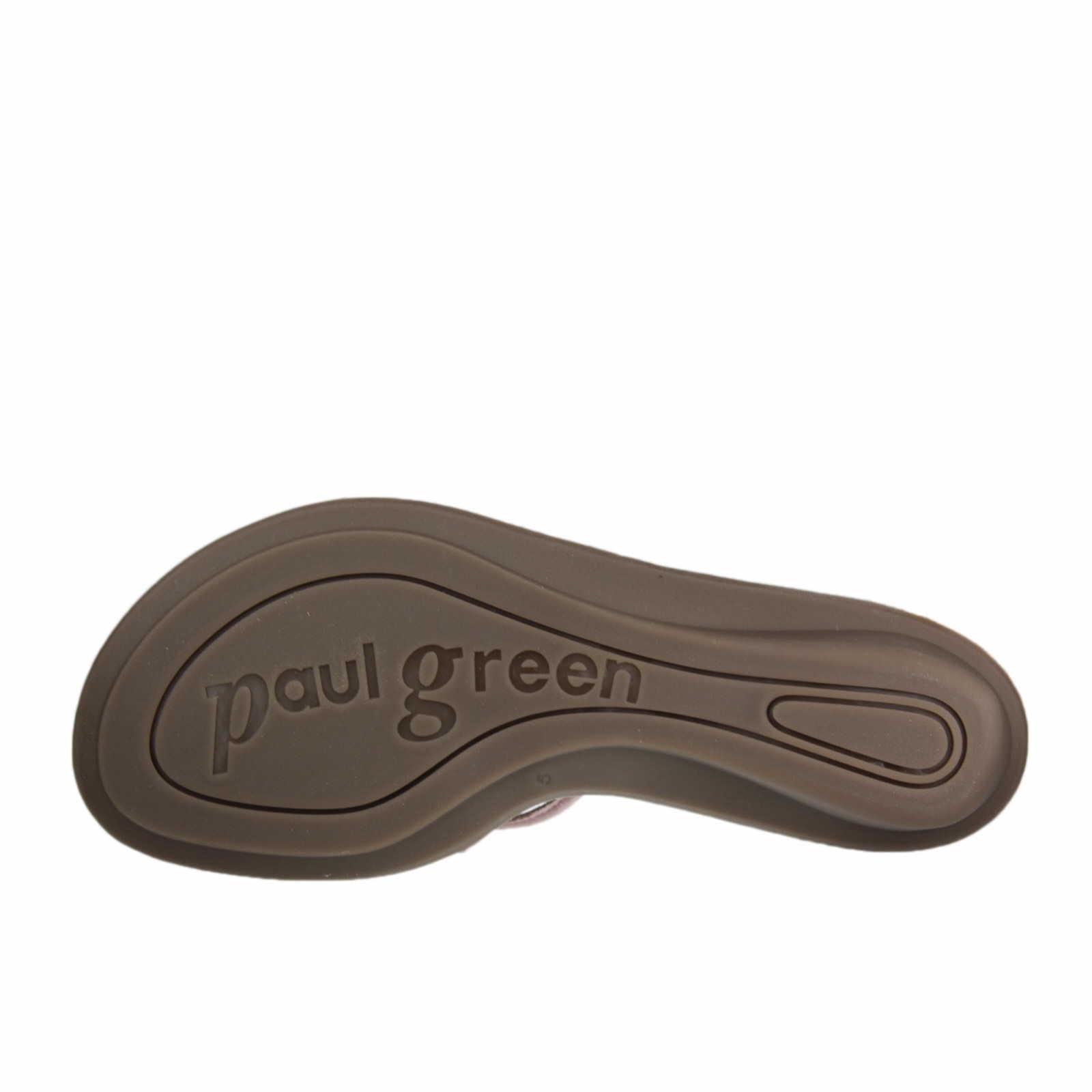 paul green zehensteg pantolette f r damen in rot schuhparadies. Black Bedroom Furniture Sets. Home Design Ideas